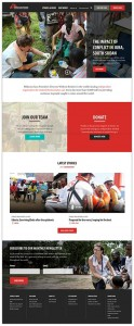 The new MSF website.